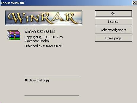 WinRAR 5.50 [English] [x84 + x64] + Universal Patch.
