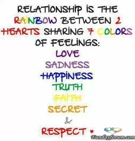 relationship is a rainbow