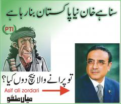 Imran khan vs asif zardari - New Pakistan