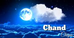 Chand chupa badal mein